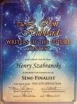 WotF Semi-Finalist Certificate
