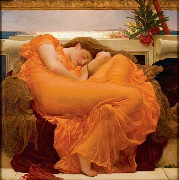 Flaming June by Sir Frederic Leighton