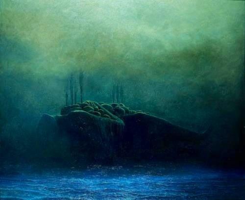 """Art that inspired """"The Clay Farima"""" by Zdzislaw Brezinski"""