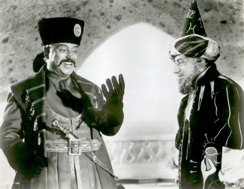 "Pedro Armedariz (left) as ""El Kerim"" (Captain Sindbad 1963)"